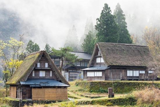 Gokayama and Shirakawago