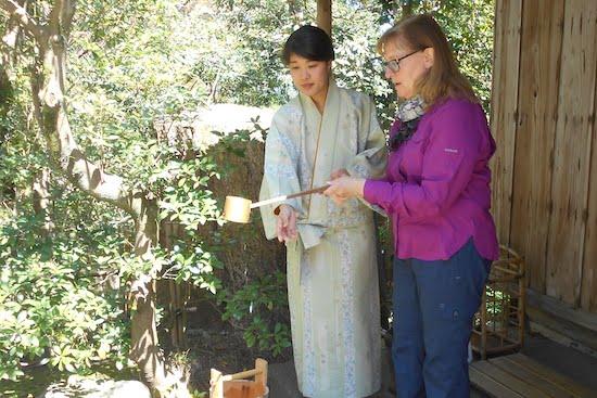 Tea at Shirakawago