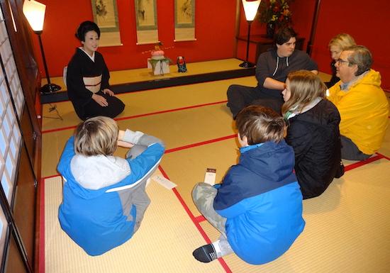 Meeting the locals shirakawago