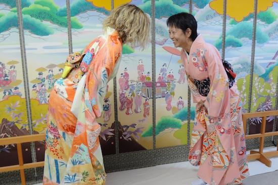 Kimono Try on Kanazawaq