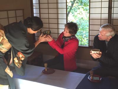 Kanazawa Tea Ceremony
