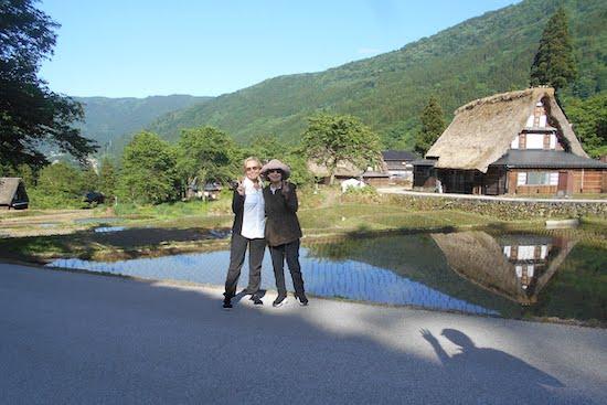 Guests in Gokayama