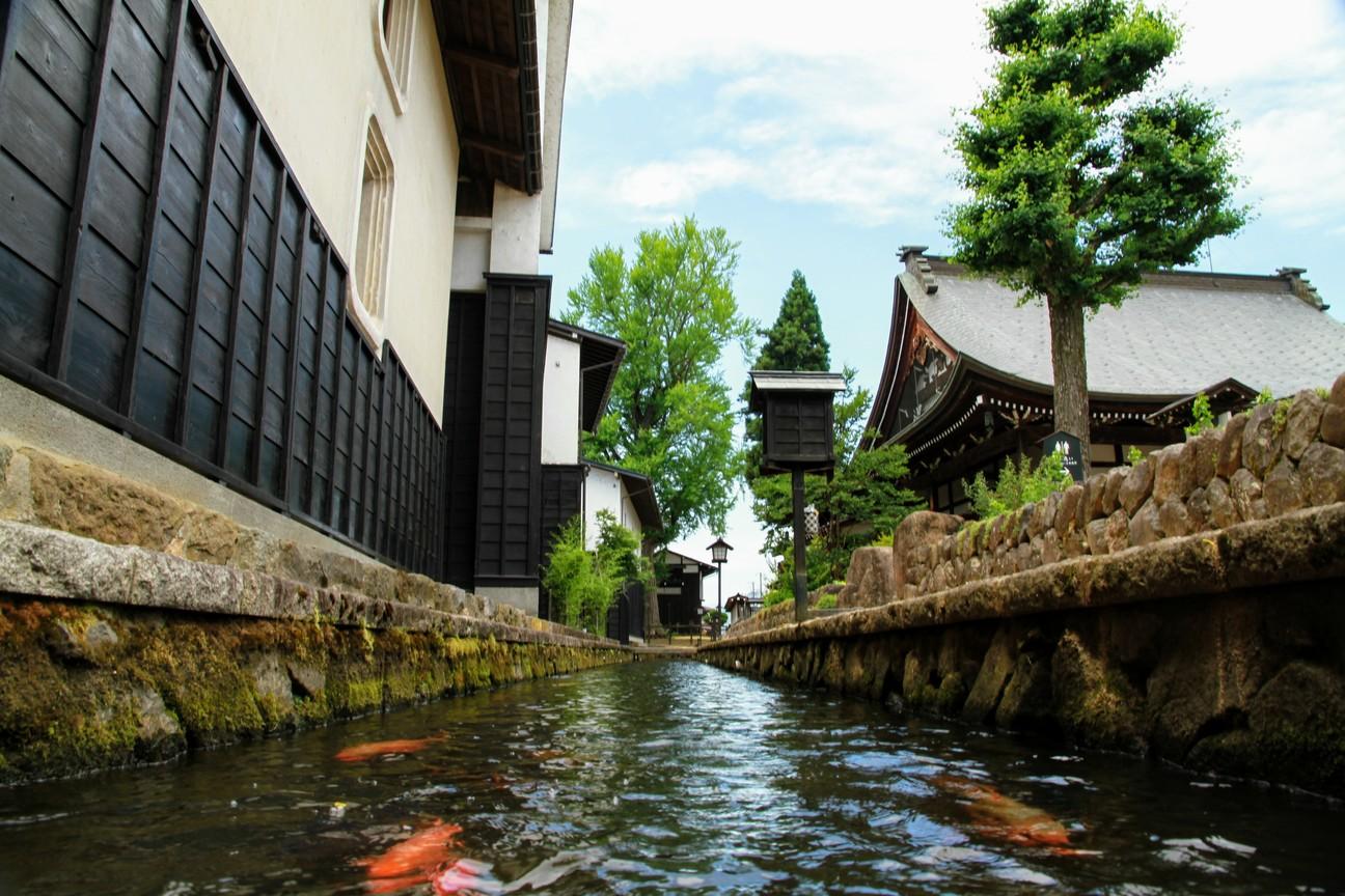 Hida Furukawa Carp Canals