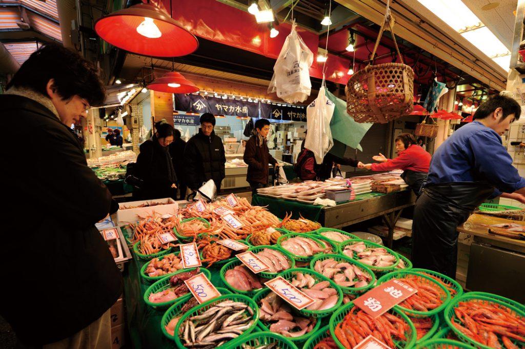 Omicho Fish Market
