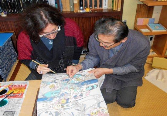 Kanazawa Artisan Tour Kaga Yuzen