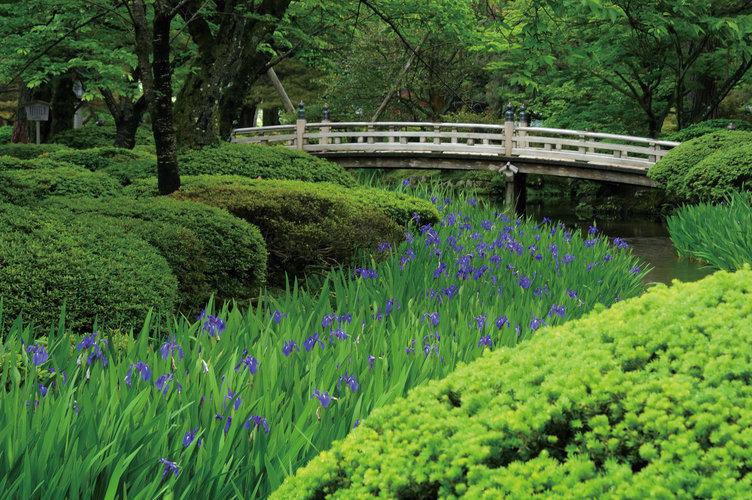 Kenrokuen Spring