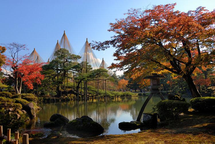 Kenrokuen Autumn